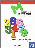 MATEMATICAS 32 - Medidas de longitud. Triángulos. Tiempo