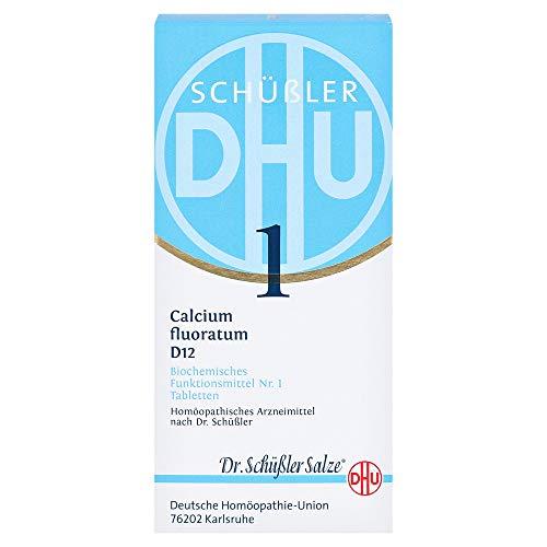 DHU Schüßler-Salz Nr. 1 Calcium fluoratum D12 Tabletten, 420 St. Tabletten