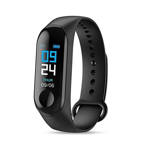 N / E Pulsera impermeable de frecuencia cardíaca monitor de salud reloj para M3