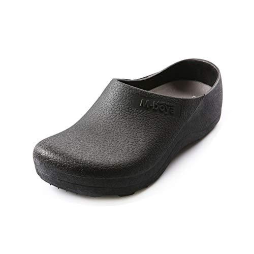 Shoes Chaussures de SéCurité de Chef de Cuisine, Chaussures pour Hommes et Femmes, ImperméAbles et RéSistantes à l'huile (Noir)