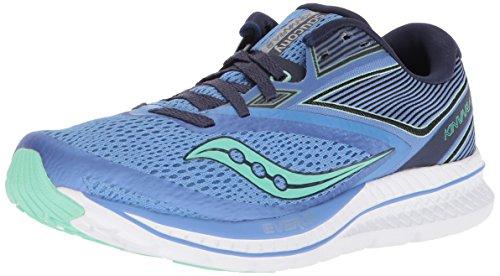 Saucony Women's Kinvara 9 Running Shoe, Blue/Teal, 9.5 Medium US