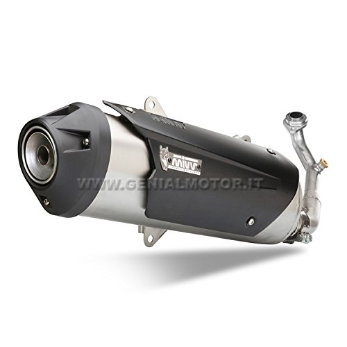 Yamaha XMAX 250200606Completo MIVV de escape Urban Acero Inoxidable