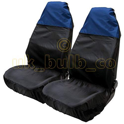 ASC-Protector de asiento de nailon Resistente al agua, color azul y negro