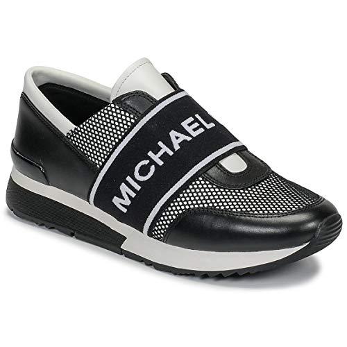 Michael MICHAEL KORS MK Trainer Sneaker Damen Schwarz/Weiss - 35 - Sneaker Low