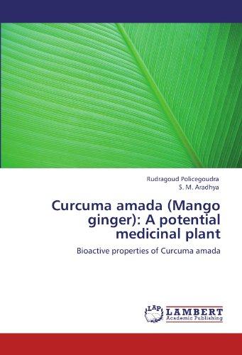 Curcuma Amada (Mango Ginger): A Potential Medicinal Plant