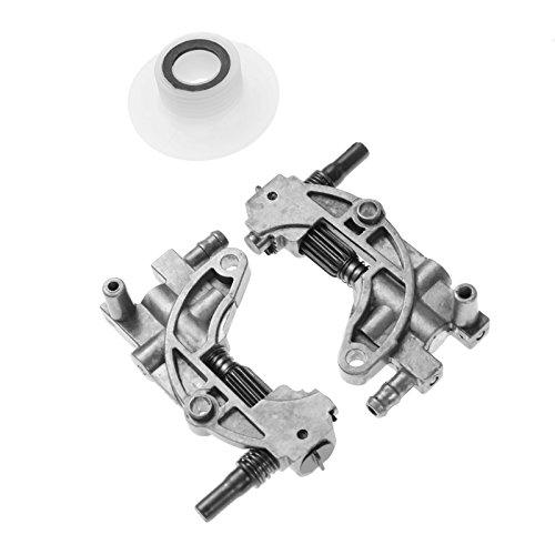 Ölpumpe mit Schneckengetriebe Gear Worm Set für Kettensäge 4500 5200 5800 45CC 52CC 58CC Kettensäge Teile