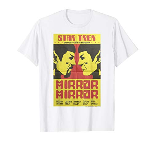 Star Trek Original Series Mirror Mirror Retro Poster T-Shirt