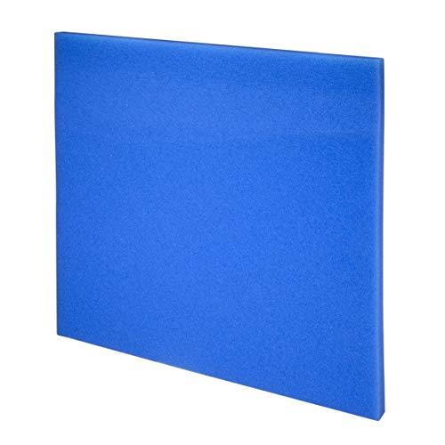 JBL 62562 Mehrweg-Schaumstoff für Aquarienfilter gegen alle Wassertrübungen, Filterschaum blau fein