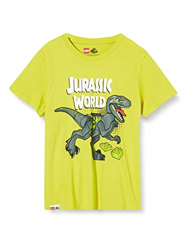 LEGO Cm Jurassic World Camiseta, Verde (Lime Green 810), 116