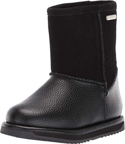 EMU Australia Trigg Kids Wool Waterproof Boots Size 9 EMU Boots Black