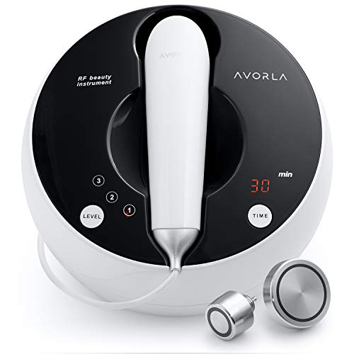 Avorla High Frequency Skin Tightening Machine- Anti Aging Device for Wrinkle Reduction and Skin Lift–At-Home Facial Massager Wand– Professional Face & Body Skin Care Beauty Tools