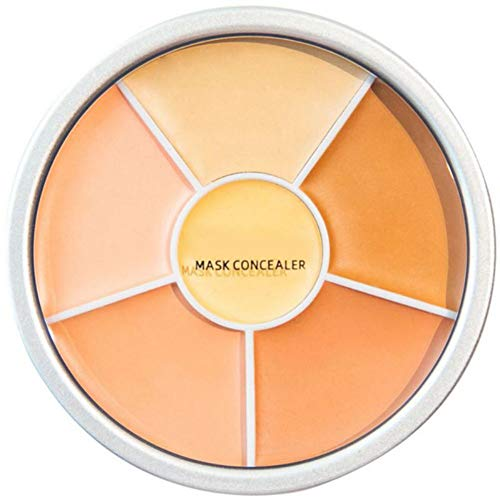 ColorfulLaVie 6 Couleurs Palette de crème Contours, La peau uniforme couvre les imperfections de la peau