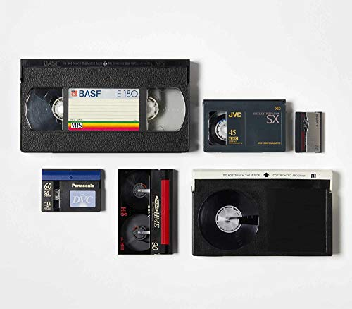 Video Tape Transfer Service (VHS, Hi8, Video 8, 8 mm, VHS-C, MiniDV) auf Digital MP4