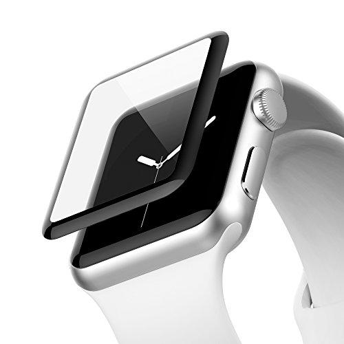 Belkin ScreenForce - Protector de Pantalla Edge to Edge Ultraglass para Apple Watch (42 mm), Serie 1