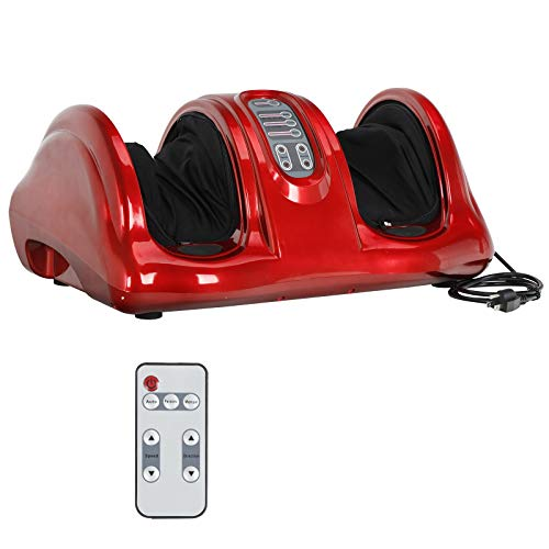 ZENY Foot Massager Machine Deep Kneading and Rolling Shiatsu Massage for Foot Leg Calf Ankle Personal Home Health Care Tool,Muscles Relaxation