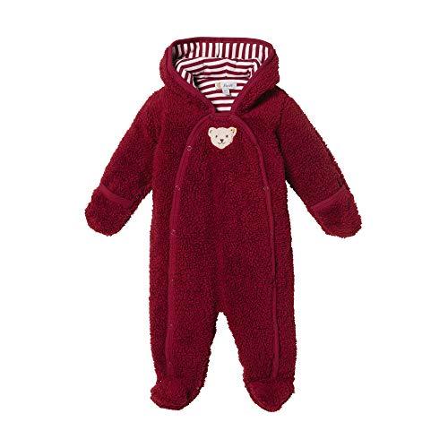 Steiff Baby - Mädchen Spieler , Rot (BEET RED 4010) , 68 (Herstellergröße:68)