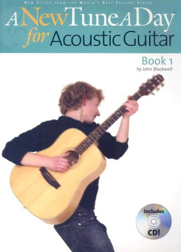 A New Tune a Day - Acoustic Guitar, Book 1 [With CD]
