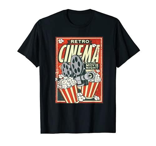 Poster de cinéma rétro - Motif appareil photo de...