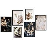 myestado - Premium Poster Set Bilder Wohnzimmer Modern