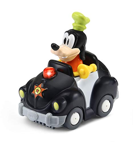 VTech Tut Bólido Disney, Multicolor (TTB Coche de Policía de Goofy.)