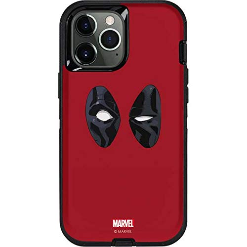 Skinit Decal Phone Skin Compatible with OtterBox Defender Case for iPhone 12 Pro Max - Officially Licensed Marvel Deadpool Eyes Design