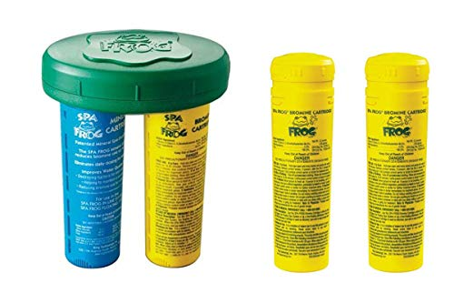 Frog Serene Floating Sanitizing System plus 2-Pack Bromine Cartridges