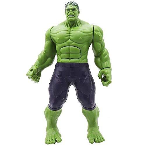 Boneco Hulk 30 Cm Com Som E Luz