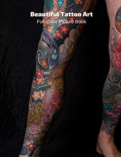 Beautiful Tattoo Art Full Color Picture Book Body Art Photography Book product image