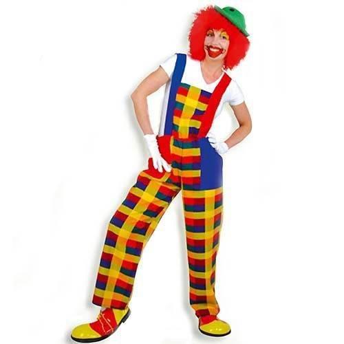KGU27724 Kostüm Clown-Latzhose Peppi XXL