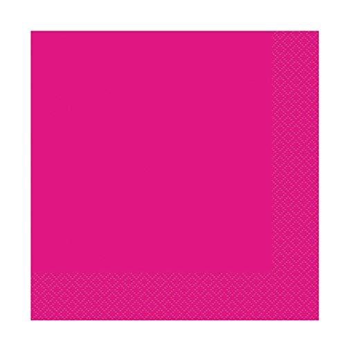 takestop® papieren handdoeken, kleurrijke pastelkleuren, USA en Getta, verjaardag, bruiloft, geboorte, doop, feest, SET 30 PEZZI, Fuchsia