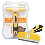 Pet Cat and Dog Grooming Brush Tool Effectively Reduce Shedding Up to 90%