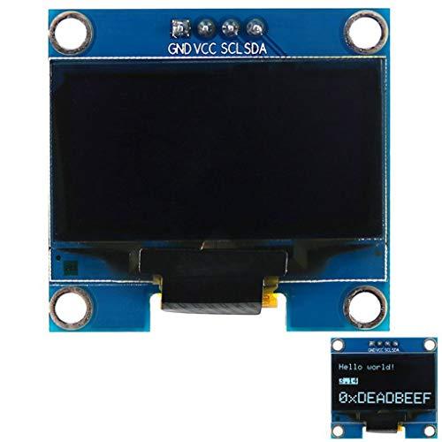 rongweiwang 1.3 '' 128 * 64 White Light I2C OLED-Screen-Display-Modul für Arduino