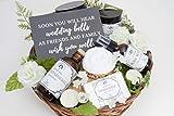 Engagement Gift Basket, Bridal Shower Gift, Bride to Be Gift, Congratulations Gift, Gift Basket for Her, Gift Basket for Women, Spa Gift, Spa Kit, Gift Set for Her, Organic Skincare Gift Basket