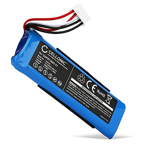 CELLONIC Batteria GSP872693 01 Compatibile con JBL Flip 4, Flip 4 Special Edition Accu Ricambio da 3000mAh per Cassa Bluetooth diffusore Speaker Altoparlante Battery