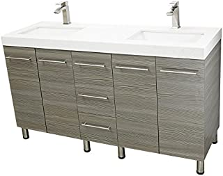 Best 59 bathroom vanity with countertop Reviews