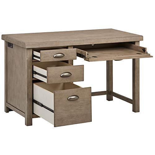 Amazon Brand – Stone & Beam Elias Casual Wood Office Computer Desk, 48
