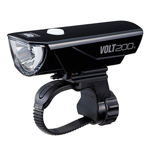 キャットアイ(CAT EYE) LEDヘッドライト VOLT200 HL-EL151RC USB充電式 ブラック