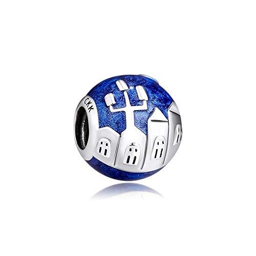XIYANG DIY Passt Für Original Pandora Armbänder 925 Sterling Silber Fit Pandora Charm Armband City Impression Charms Metallperlen Für Schmuck Neu Machen