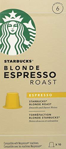 Starbucks Blonde Capsules, 10 Capsules (Pack of 6 - Total 60...