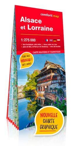 Alsace et Lorraine : 1/275 000 (Comfort! Map)