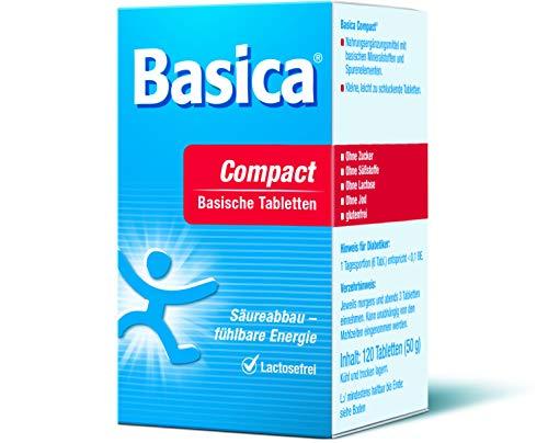 Basica Compacte, praktische basische tabletten voor thuis en onderweg, 120 tabletten
