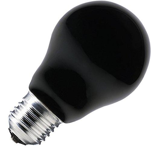 Paulmann - Ampoule 75W E27 230V 95mm 55mm - Noire
