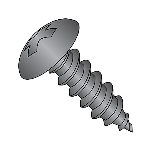 Steel Self-Drilling Screw Zinc Plated Finish #8-18 Thread Size Small Parts 0824KTF Pack of 100 82 Degree Flat Head Star Drive 1-1//2 Length Pack of 100 1-1//2 Length #2 Drill Point