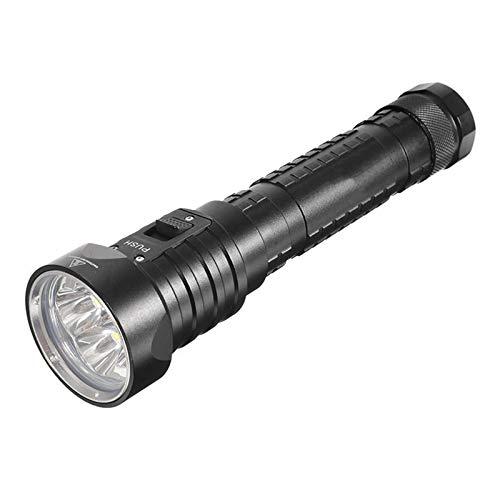 TEET Linterna LED de buceo LED linterna los 60M para el camping al aire libre interior de la iluminación