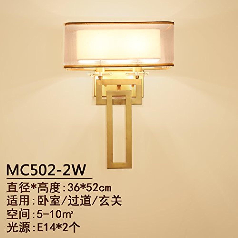 StiefelU LED Ein Messing Wandleuchten off road leuchten Light Corridor light Treppenlicht-zeitschalter antike Schlafzimmer Nachttischlampe, von 36 cm  Hhe 52 cm Durchmesser)