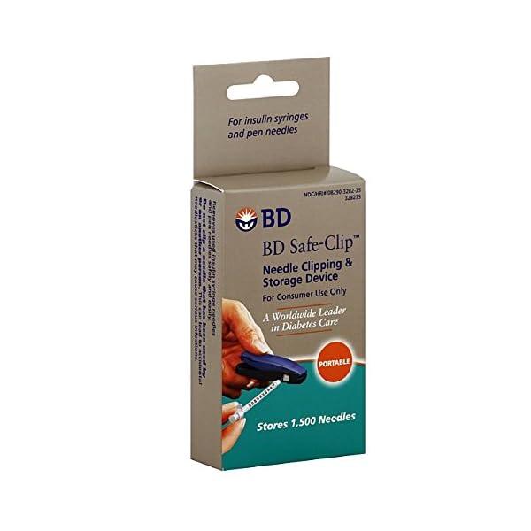 buy  Invacare Safe-Clip Insulin Syringe Needle Clipper, ... Diabetes Care