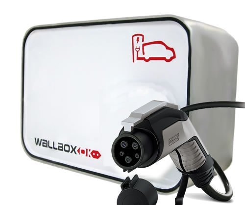New Wallbox EV Punto Recarga Coche Eléctrico, Tipo 1 SAE J1772, 32A 230V Monofásico