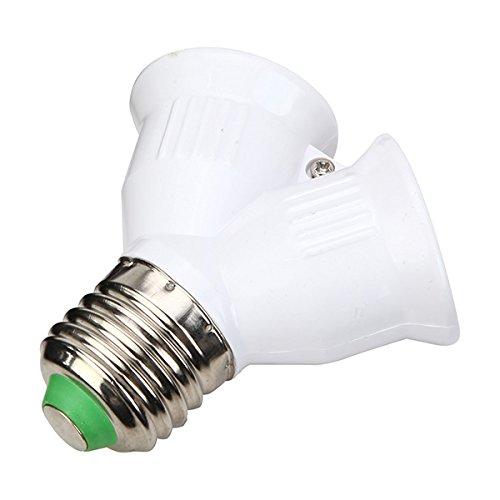 ZHENWOFC Splitter per convertitore adattatore lampadina E27 Light NUOVO Luce a LED