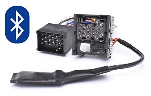 Bluetooth Musik Adapter geeignet für BMW E46 E39 E38 Rundpin 17pin Old Generation Radio
