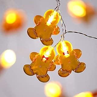gingerbread fairy lights